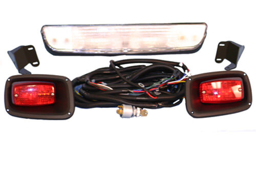 ez go golf cart lights wiring ez image wiring diagram ezgo wiring diagram light kit st jodebal com on ez go golf cart lights wiring