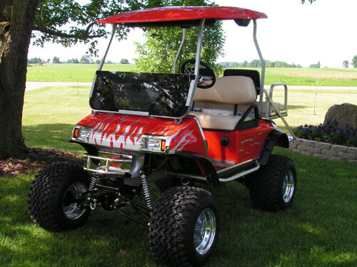 Customercarts jakesliftkits 2005 club car ds with jakes long travel lift kit part 6238 solutioingenieria Images