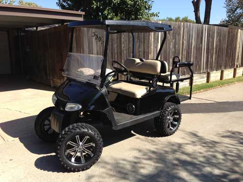 CUSTOMERCARTS | JakesLiftKits.com on lincoln on a rail cart, 2013 ezgo txt, 2013 ezgo electric golf cart,