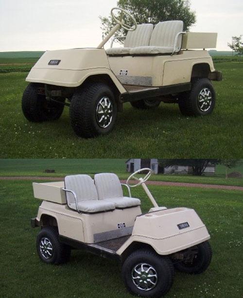 Car Lift: Yamaha Golf Cart Lift Kit on yamaha rx-1 snowmobile front suspension mount, yamaha golf carts brand, big golf cart lift,