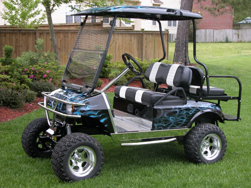 Club Car DS Long Travel Lift Kit