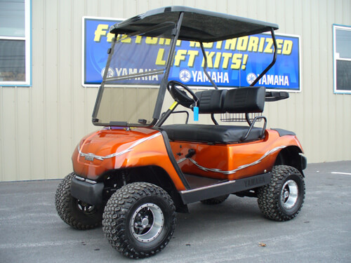 CUSTOM CARTS | JakesLiftKits.com on car rims, golf carts lifted with exhaust, golf carts that are pink, golf carts with big wheels,