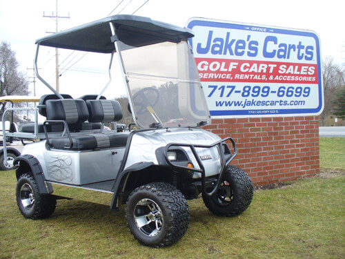 CUSTOM CARTS | JakesLiftKits.com on golf cart light kits, golf cart trunk kits, golf cart dashboard kits, golf cart horn kits, golf cart frame kits, golf cart building kits, golf cart dump bed kits, golf cart windshield kits, golf cart carpet kits, golf cart speedometer kits, golf cart garage kits, golf cart speaker kits, golf cart dash kits, golf cart seat belt kits, golf cart canopy kits,