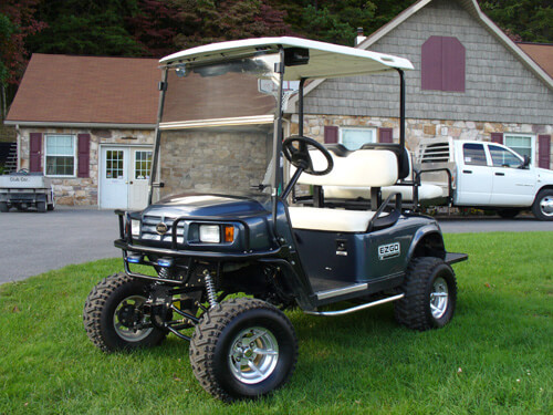 Customercarts jakesliftkits gene arrigoni yorktown heights ny 2004 yamaha g22 gas custom built by jakes carts w jakes 6 lift kit part 6255 12 ss wheels jakes fg top solutioingenieria Images