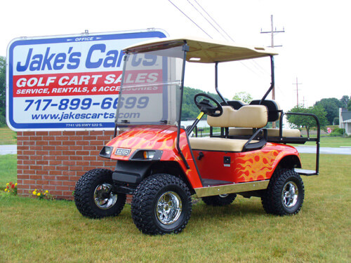 Golf Cart Fender Flare Installation further Golf Cart Gas Engine Conversion 3PKgyc8xzGHF1UiIoOrlFfGQv1B7 7C9FhGG3Y4ZWhZHA furthermore Lsu Club Car Precedent Golf Cart together with 7341 likewise burkholdergolfcarts. on yamaha golf cart lifted jakes