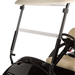 Clear Club Car Precedent Folding Windshield (Fits 2004-Up)