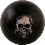 Skull-In-Ball Sport Shifter Knob (Universal Fit)