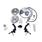 Jake's Club Car DS Non-Lifted Front Disc Brake Kit (Fits 2004.5-2008.5)