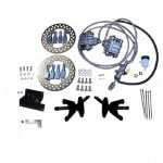 Jake's Club Car Precedent Front Disc Brake Kit w/ Long Travel (Fits 2008.5-Up)