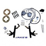 "Jake's Club Car DS 4"" Lifted Disc Brake Kit (Fits 1982-2004.5)"