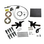 Jake's E-Z-GO RXV Electric Brake Kit W/  Spindle Lift (Fits 2008-Up)