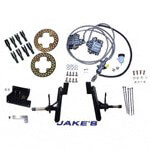 "Jake's Club Car Precedent 4"" Lifted Disc Brake Kit (Fits 2008.5-Up)"